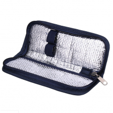 Navy Blue Travel Insulin/Peptide/HGH Pen Case Pouch Cooler