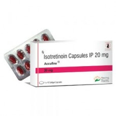 Healing pharma Isotretinoin 20mg capsules x 10 per box - limited stocks - Roaccutane