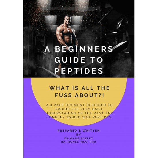 Beginners Introductory to Peptides - eBook