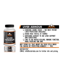 Brutal Labs LIVER ARMOUR -  TUDCA/Milk Thistle/Zinc/Artichoke Extract - 40 Caps x 830mg!