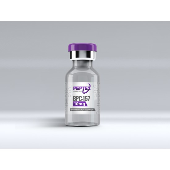 Peptex Laboratories BPC157 50mg High Purity 99%+ Peptide - Special Edition -5 PACK MOQ - 250MG TOTAL
