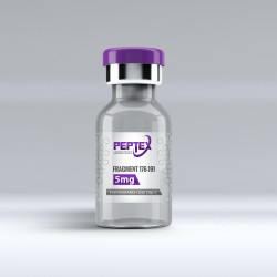 Peptex Laboratories HGH Fragment 176-191 50mg (250mg total) High Purity 99%+ Peptide - Special Edition -5 PACK MOQ