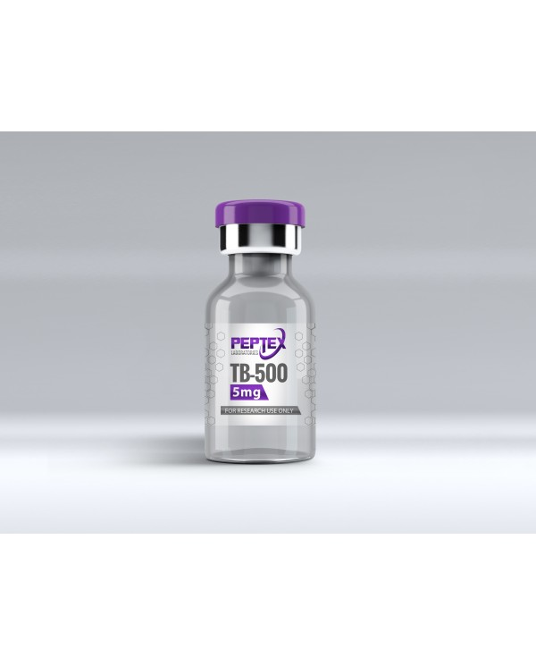 Peptex Laboratories TB-500 50mg High Purity 99%+ Peptide - Special Edition -5 PACK MOQ - 50mg x 5 units 250mg total!
